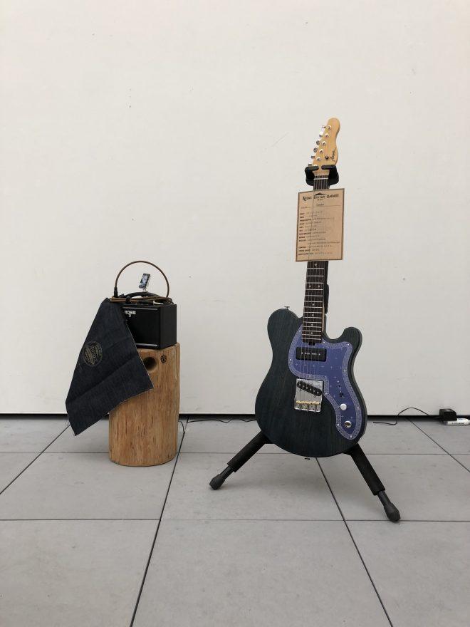 藍染ギター